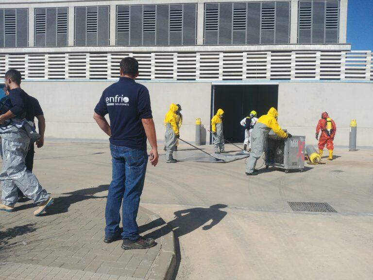 Curso de Técnico en Emergencias con Amoníaco en Sistemas de Refrigeración