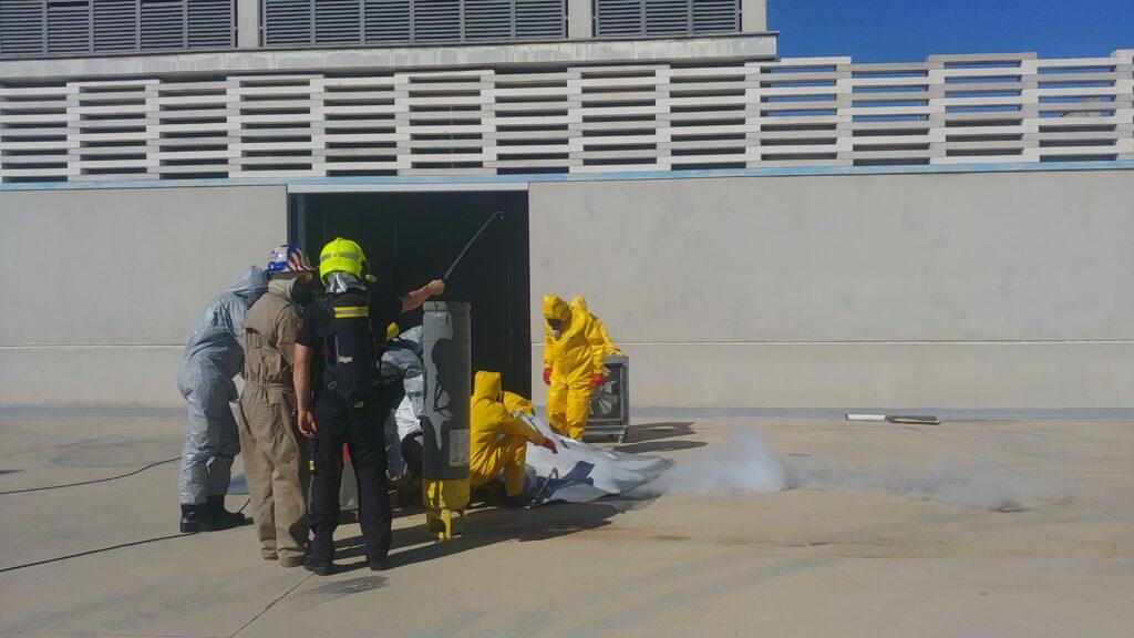 Curso de Técnico en Emergencias con Amoníaco